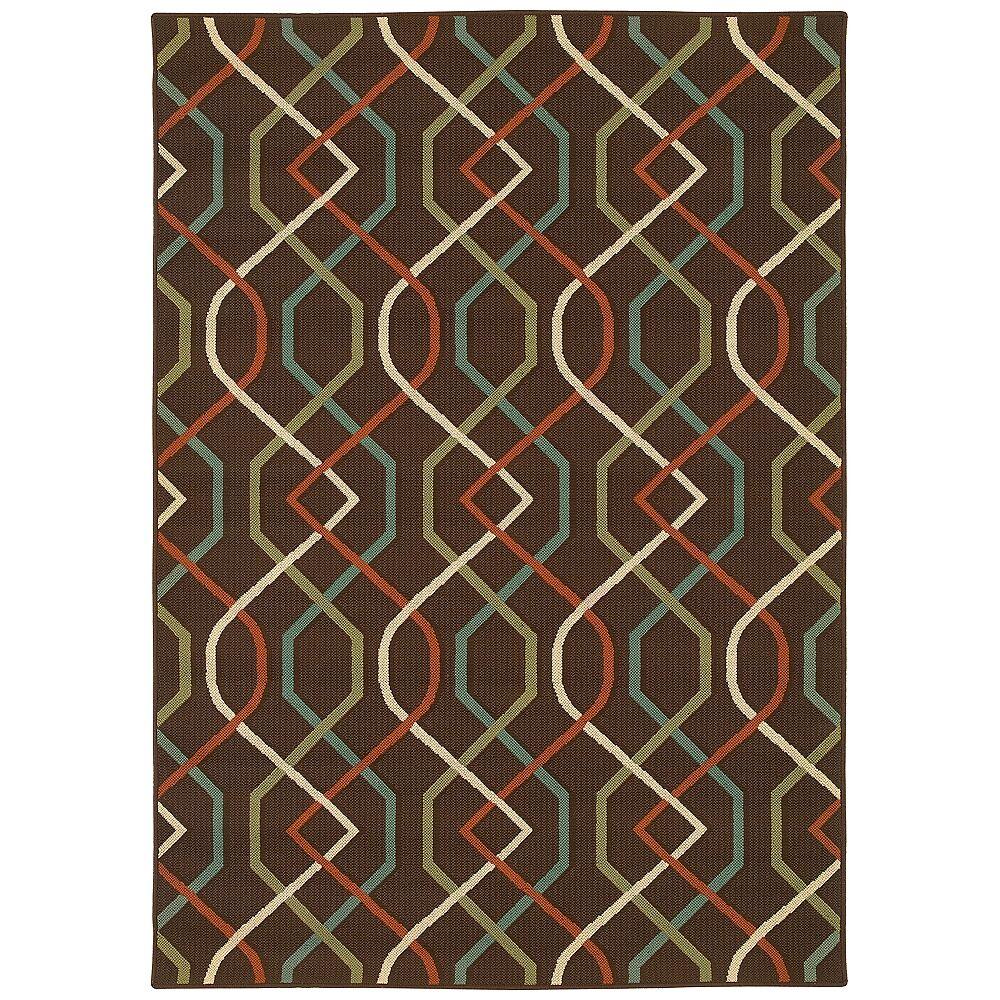 """Oriental Weavers USA Oriental Weavers Montego 896N6 7'10""""x10'10"""" Outdoor Rug - Style # 2N451"""