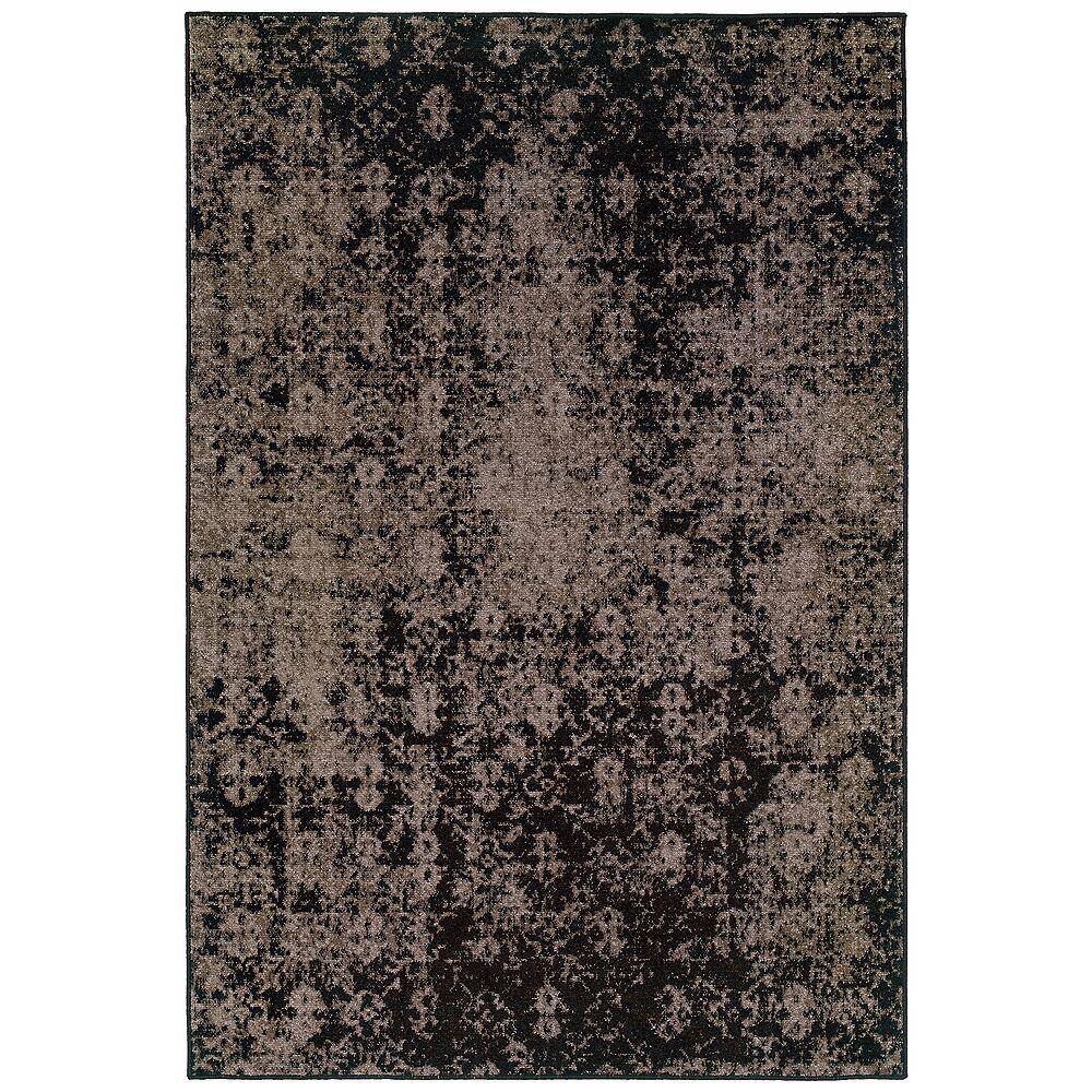 "Oriental Weavers USA Oriental Weavers Revival 216E 5'3""x7'6"" Gray Area Rug - Style # X5357"