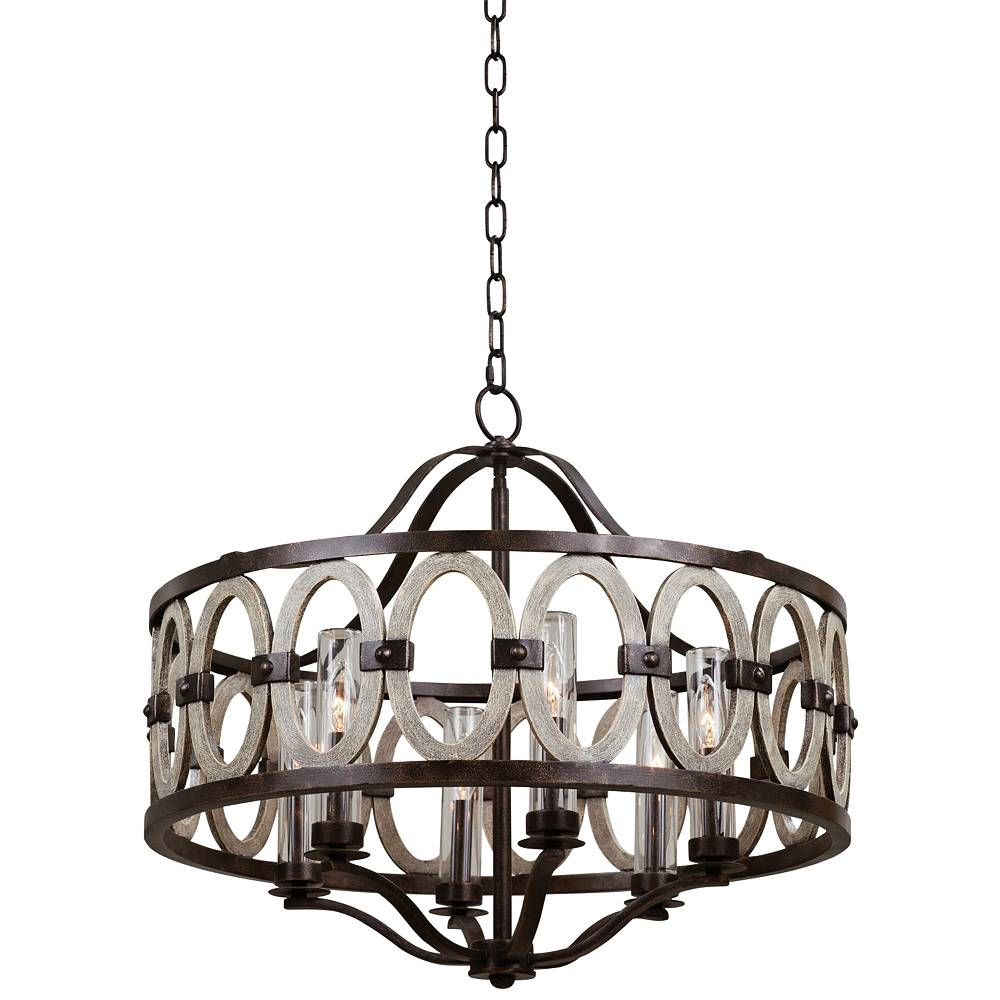 """Kalco Belmont 25"""" High Florence Gold Outdoor Hanging Light - Style # 64N41"""