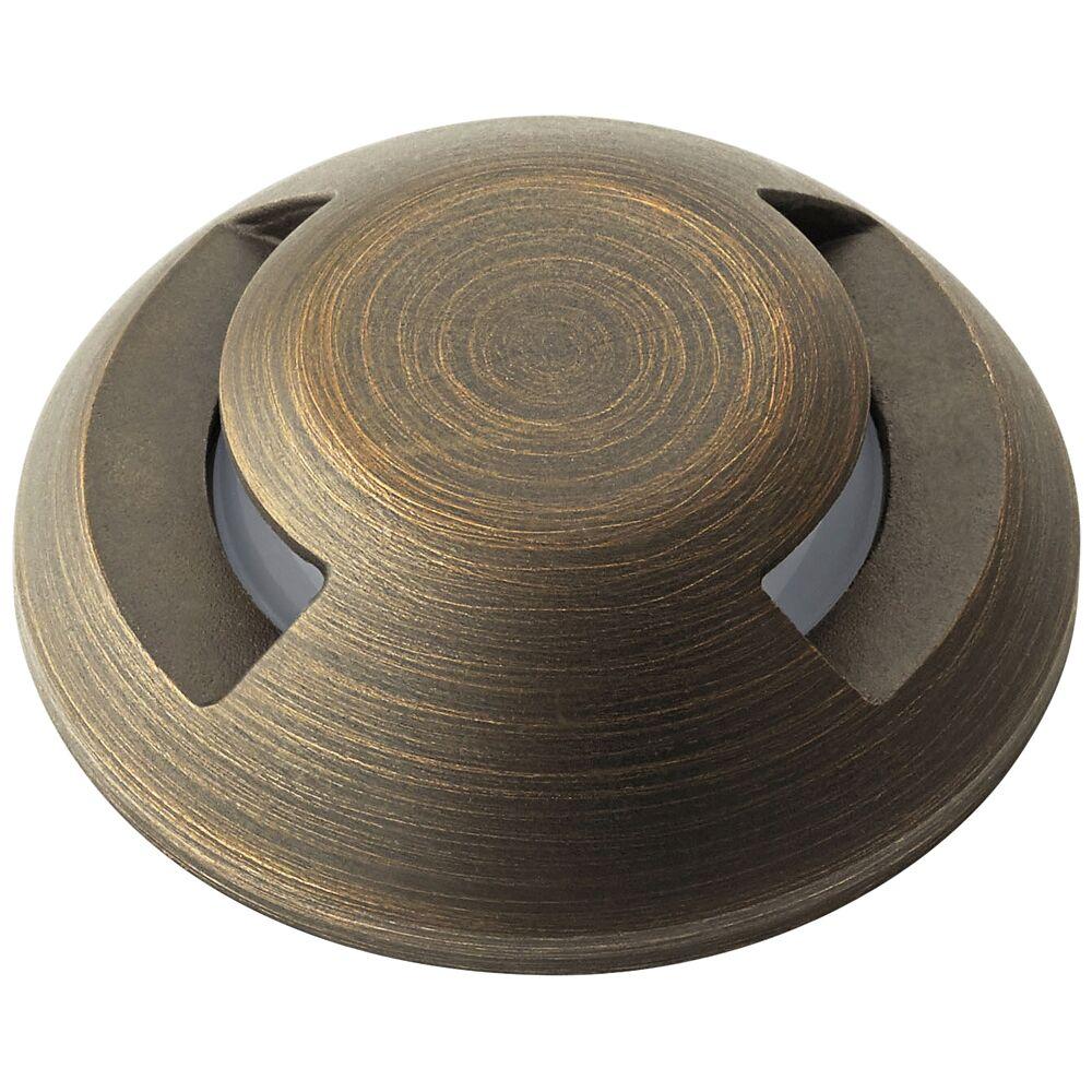 Kichler Mini All-Purpose Brass 2-Way Recessed Landscape Accessory - Style # 76E75