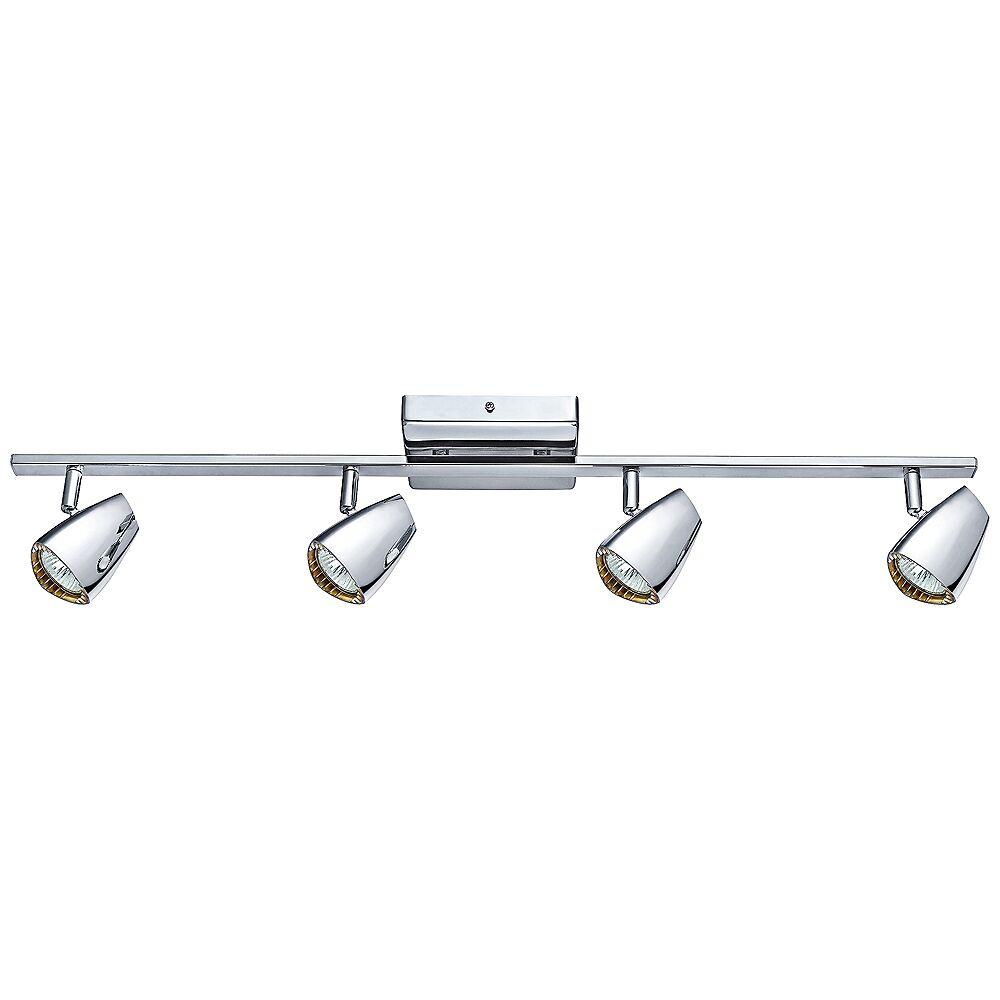 Eglo Lighting Eglo Corbera Industrial 4-Light Polished Chrome Track Kit - Style # 8R017