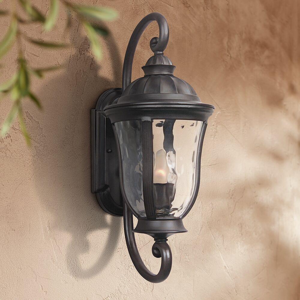 "Craftmade Frances 19 1/4""H Oil Bronze Outdoor Wall Light - Style # U2307"