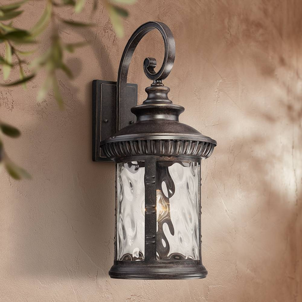 """Quoizel Chimera 11"""" Wide Imperial Bronze Outdoor Wall Light - Style # W2339"""