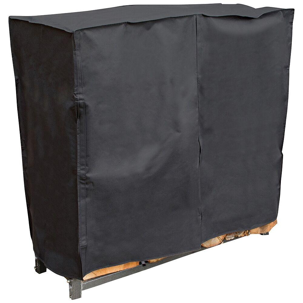 UniFlame 4-Feet Black Outdoor Log Rack Cover - Style # 85N36