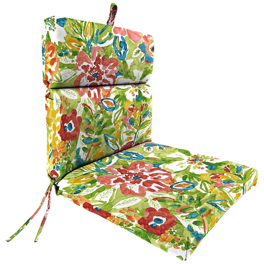 Jordan Sunriver Garden French Edge Outdoor Chair Cushion - Style # 38F63
