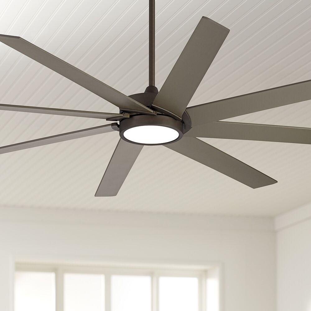 """Possini Euro Design 65"""" Possini Euro Destination Bronze LED Ceiling Fan - Style # 69P59"""