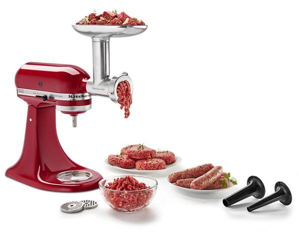 KitchenAid Stand Mixer Metal Food Grinder Attachment