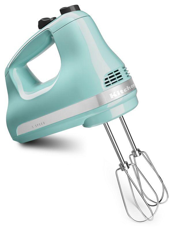 KitchenAid 5-Speed Ultra Power™ Hand Mixer in Aqua Sky