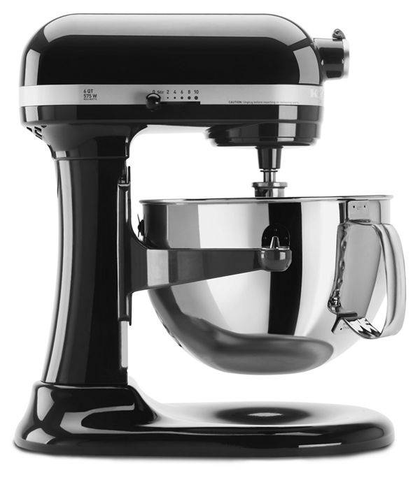 KitchenAid Pro 600™ Series 6 Quart Bowl-Lift Stand Mixer in Onyx Black