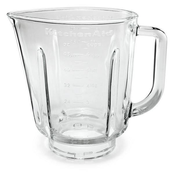 KitchenAid 48 oz Glass Pitcher For Blender (Fits Model Ksb565)