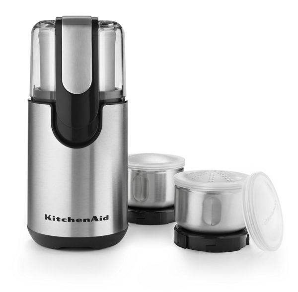 KitchenAid Coffee & Spice Grinder in Onyx Black
