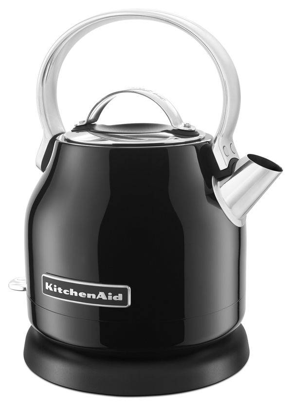 KitchenAid 1.25 L Electric Kettle in Onyx Black
