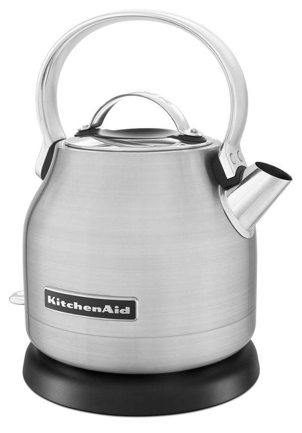 KitchenAid 1.25 L Electric Kettle in Brushed Stainless Steel