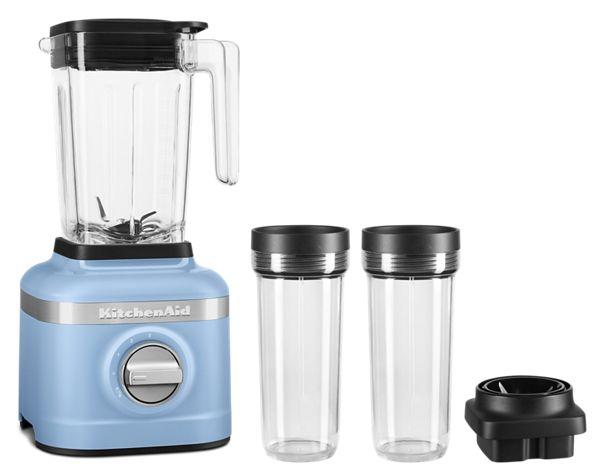 KitchenAid K150 3 Speed Ice Crushing Blender w/ 2 Personal Jars in Blue Velvet