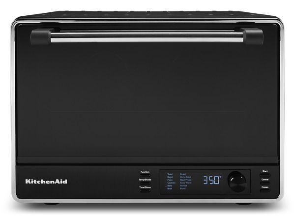 KitchenAid Dual Convection Countertop Oven in Black Matte
