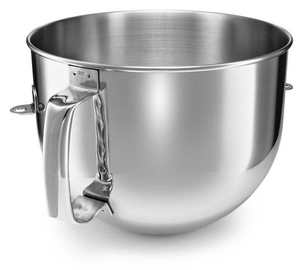 KitchenAid 7 Qt Bowl-Lift Mixer Bowl in Stainless Steel