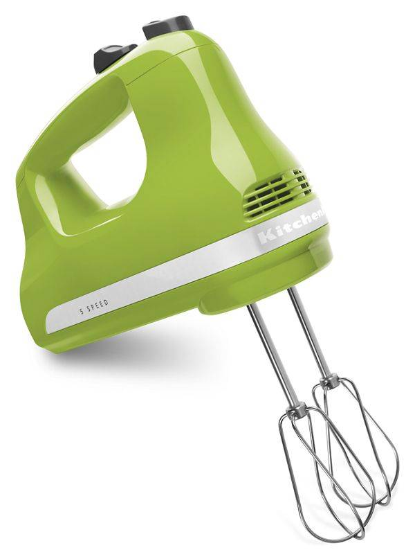 KitchenAid 5-Speed Ultra Power™ Hand Mixer in Green Apple