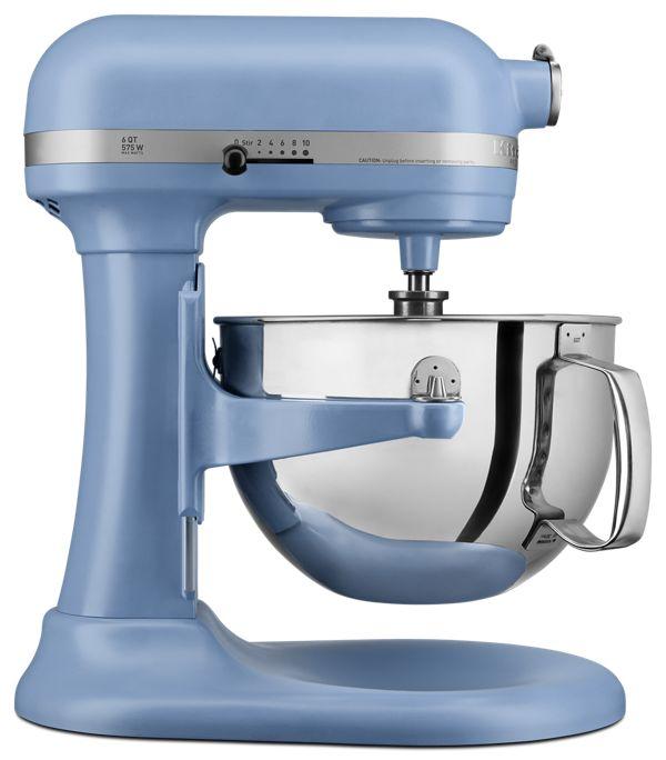 KitchenAid Pro 600™ Series 6 Quart Bowl-Lift Stand Mixer in Blue Velvet