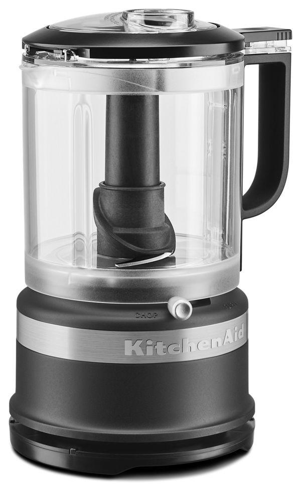 KitchenAid 5 Cup Food Chopper/Slicer in Black Matte