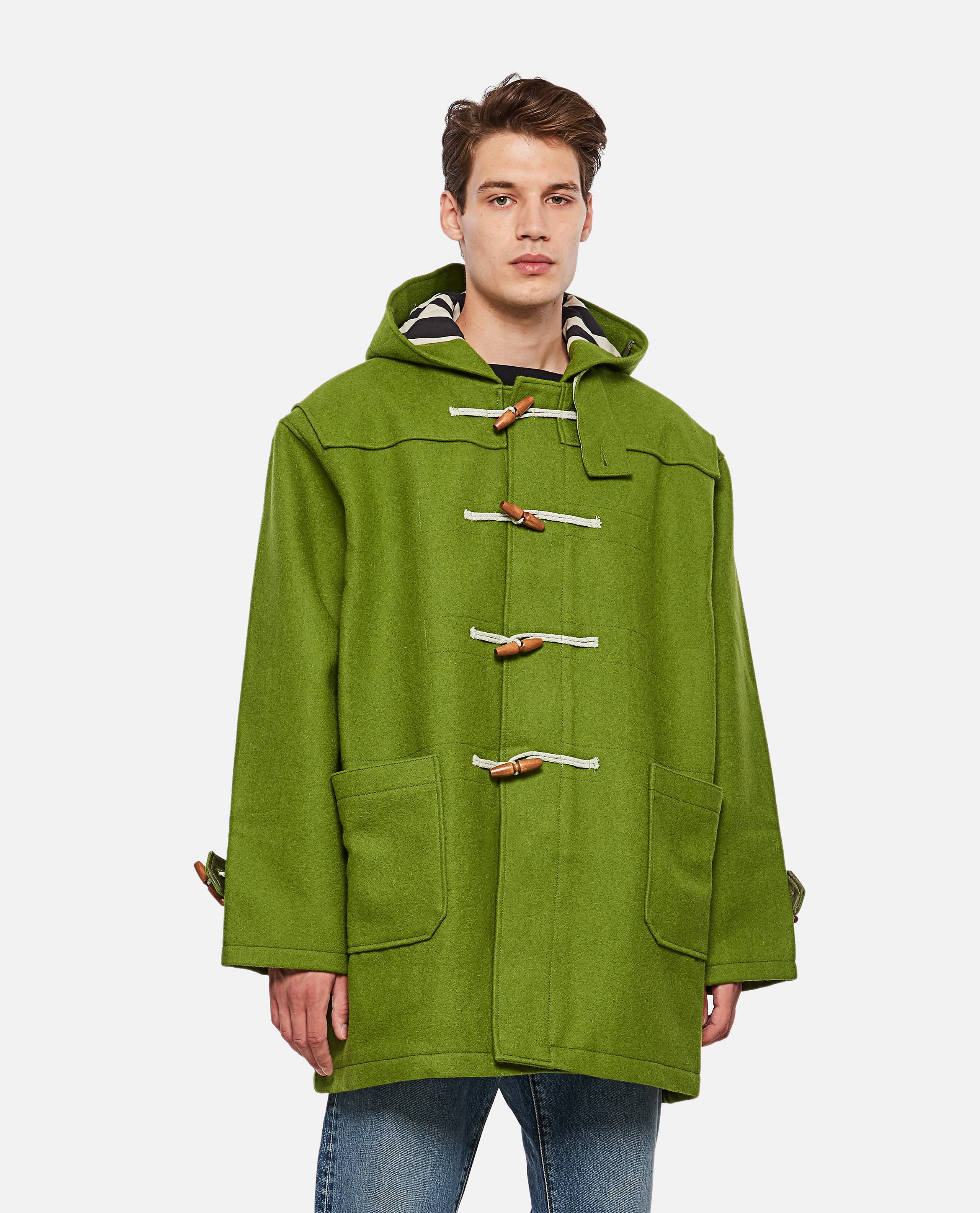 Levi Strauss & Co. LEVI'S VINTAGE CLOTHING DUFFEL COAT - Green - male - Size: S