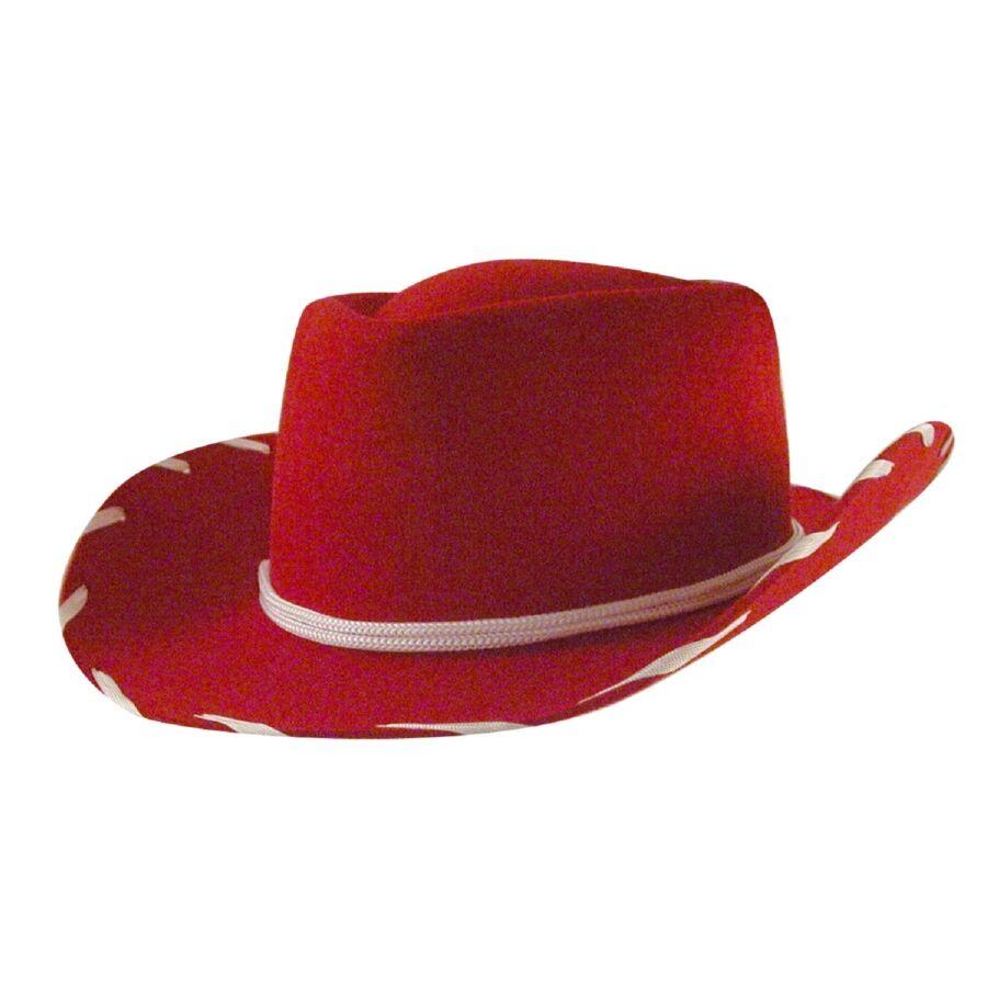 Eddy Bros.® Woody Kids Cowboy Hat - Red/XL  - Red - Size: XL