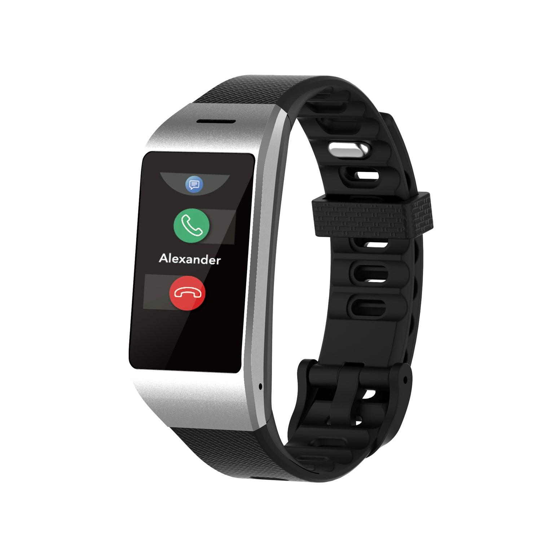 MYKRONOZ (BOW USA LLC ) ZENEO Smartwatch w/ Slim Design in Black