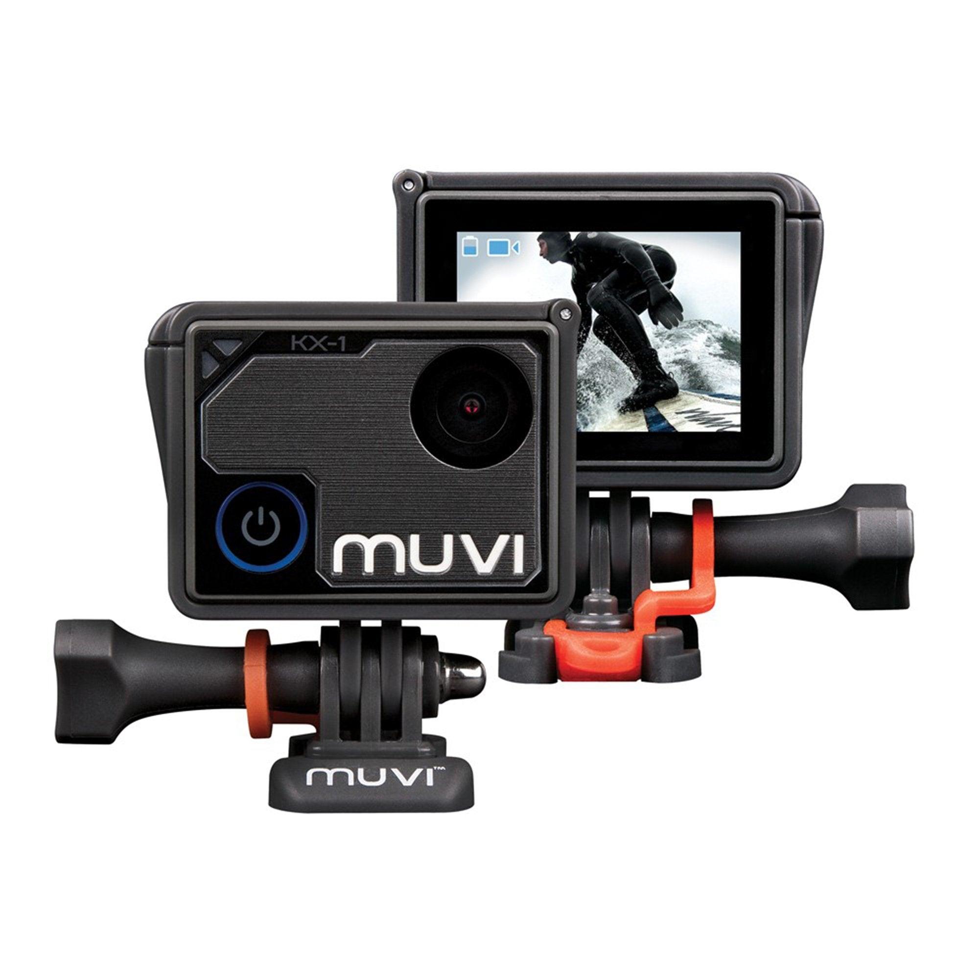 Bluemar Promotions Veho Muvi KX-1 Handsfree 4k Action Camera w/ 12MP Lens in Black