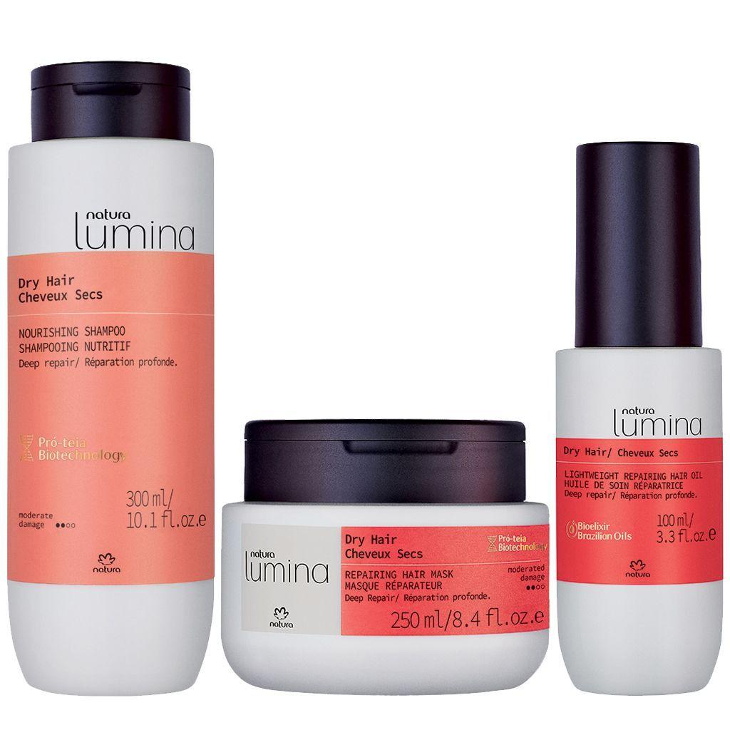 Natura Lumina Dry Hair Routine - Nutrition & Revitalization (For Hair)