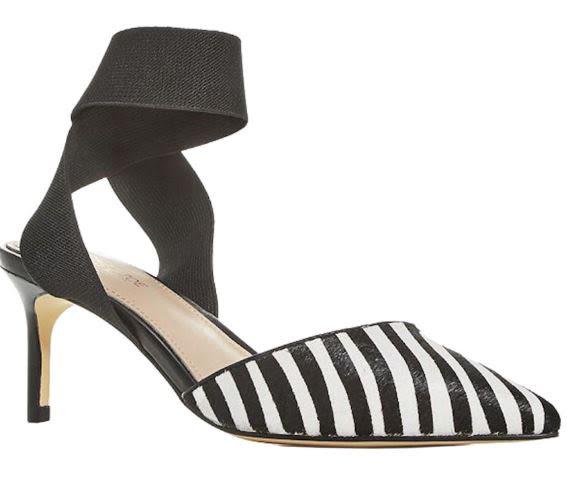 Rachel Zoe Blaire Pump - Hair Calf / E - Zebra / Black (Size 9)