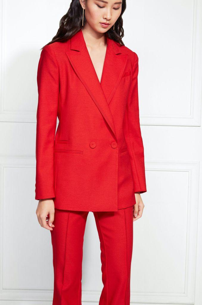 Rachel Zoe Giorgia Jacket - Red (Size 2)