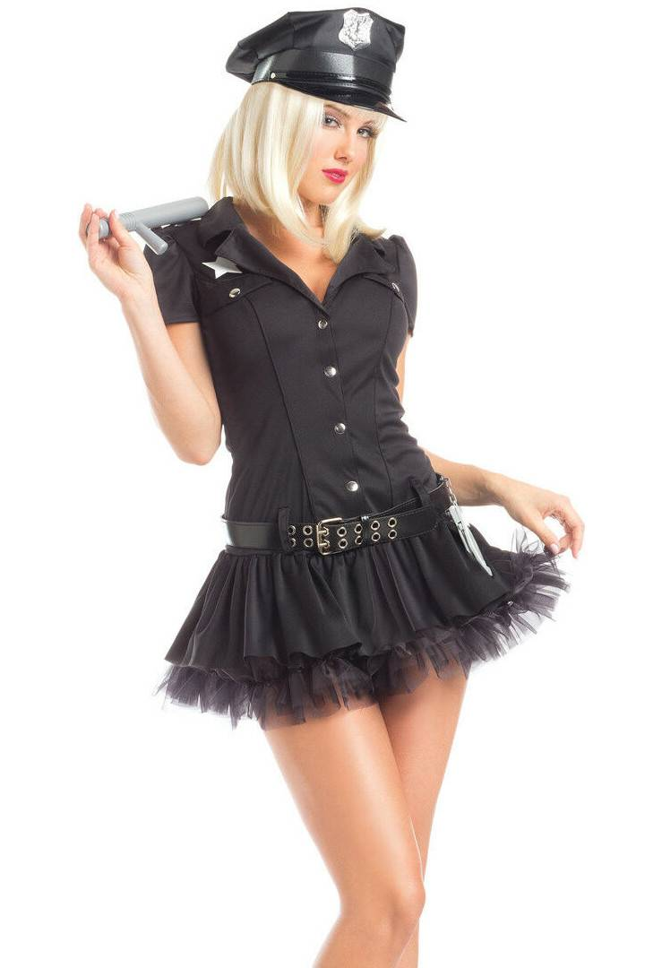 Be Wicked Women's Police Woman Costume