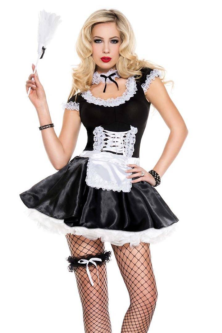 Music Legs Practically Perfect French Maid Costume