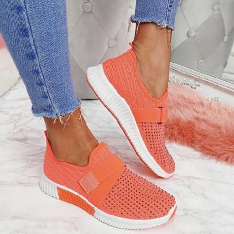 ShoesSee Inc Women's flat casual sports shoes