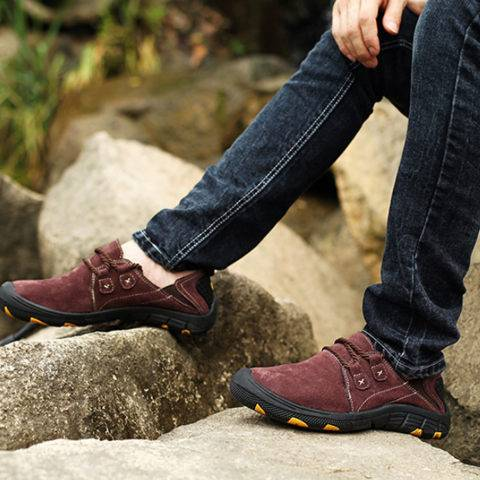 ShoesSee Inc Men's Outdoor Sports And Leisure Flat Shoes
