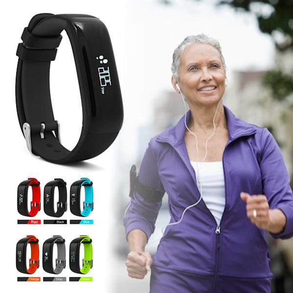 Vista Shops HealthSmart Fitness Band Measure Heart Rate, Blood Pressure, Sleep/Step Activity, Calori