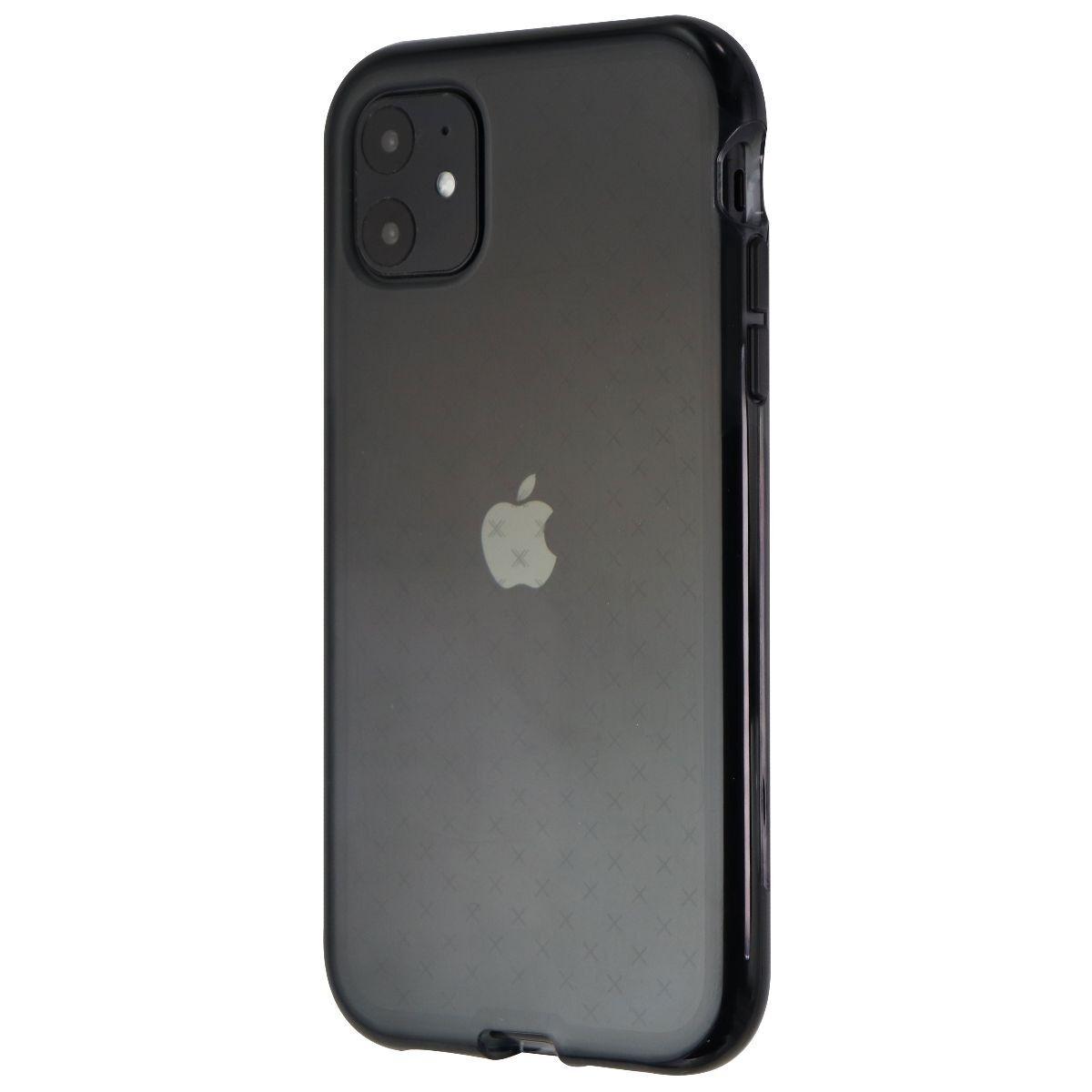Tech21 Evo Check Series Gel Case for Apple iPhone 11 Smartphones - Smokey Black