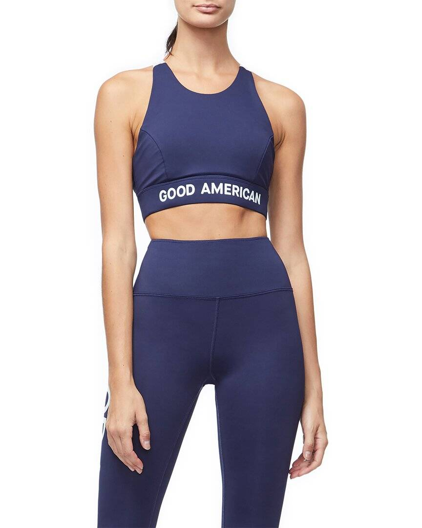 GOOD AMERICAN THE CORE POWER SPORTS BRA   - Size: 6