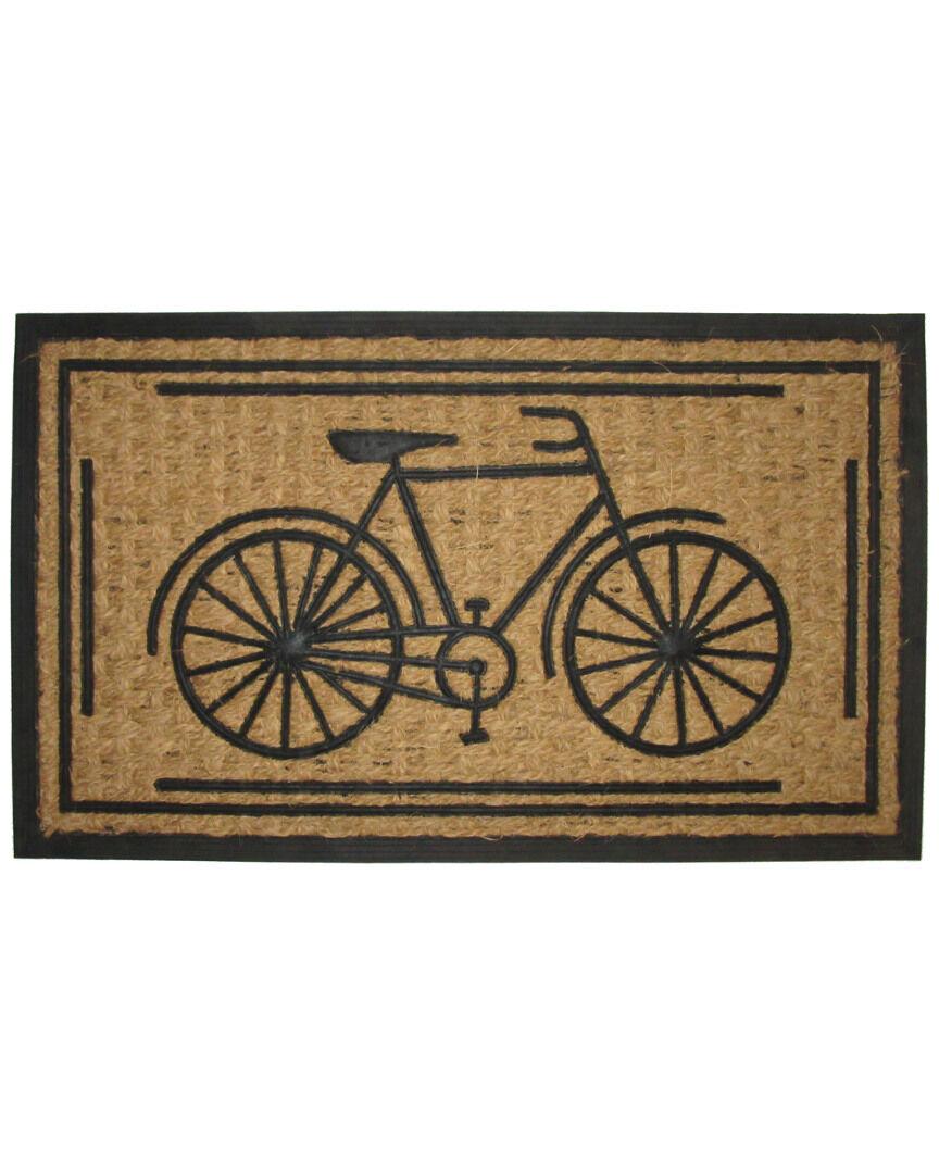 "Imports Decor Bike Indoor/Outdoor Rug   - Size: 18"" x 30"""