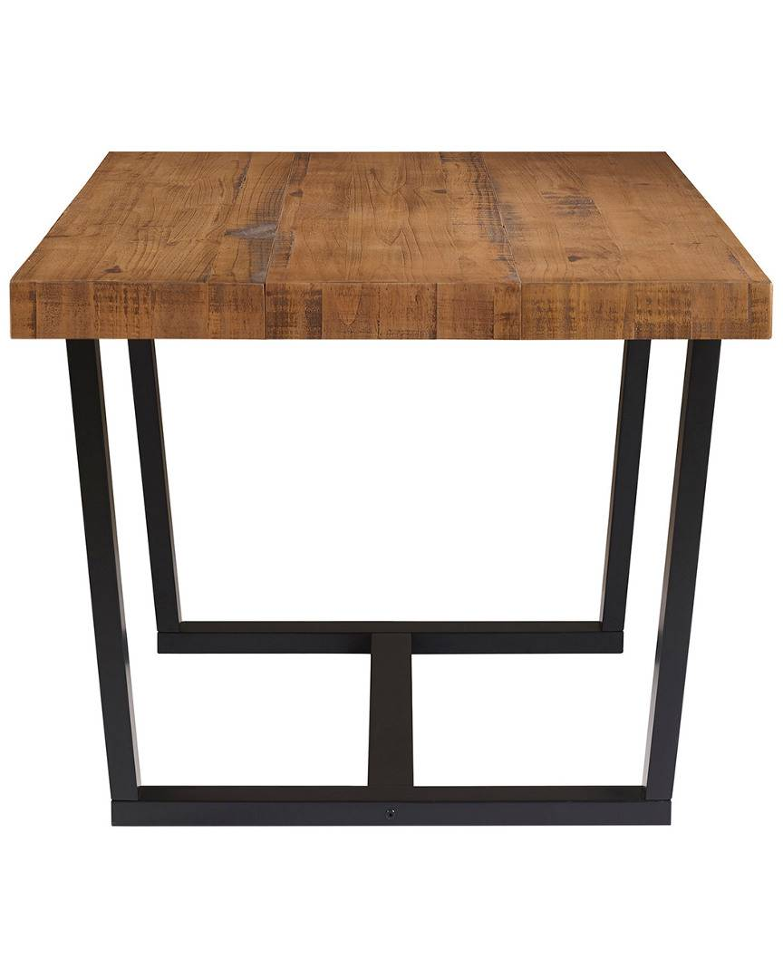 Hewson 52in Distressed Solid Dining Table   - Size: NoSize
