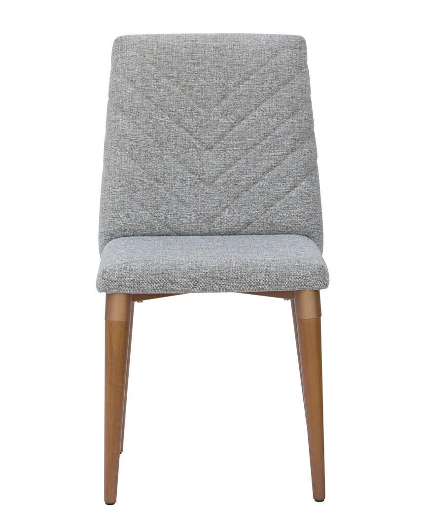 Manhattan Comfort Utopia Chevron Dining Chair   - Size: NoSize