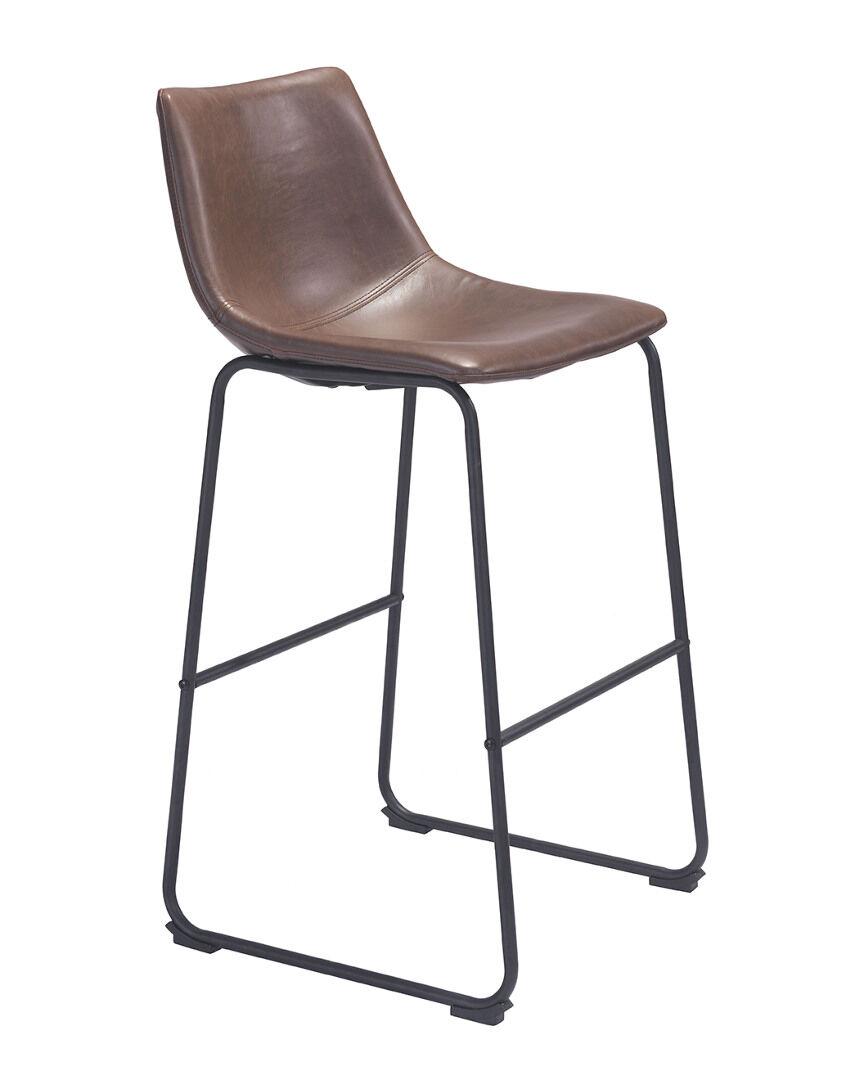 Zuo 808 Home Smart Bar Chair   - Size: NoSize
