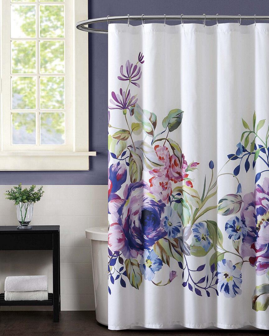 Christian Siriano Garden Bloom Shower Curtain   - Size: NoSize