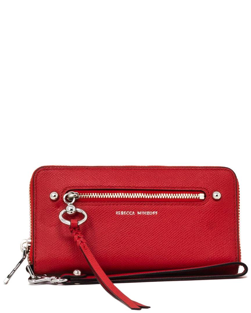 Rebecca Minkoff Gabby Leather Phone Wallet   - Size: NoSize