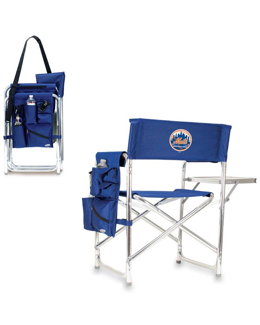 Picnic Time New York Mets Sports Chair   - Size: NoSize