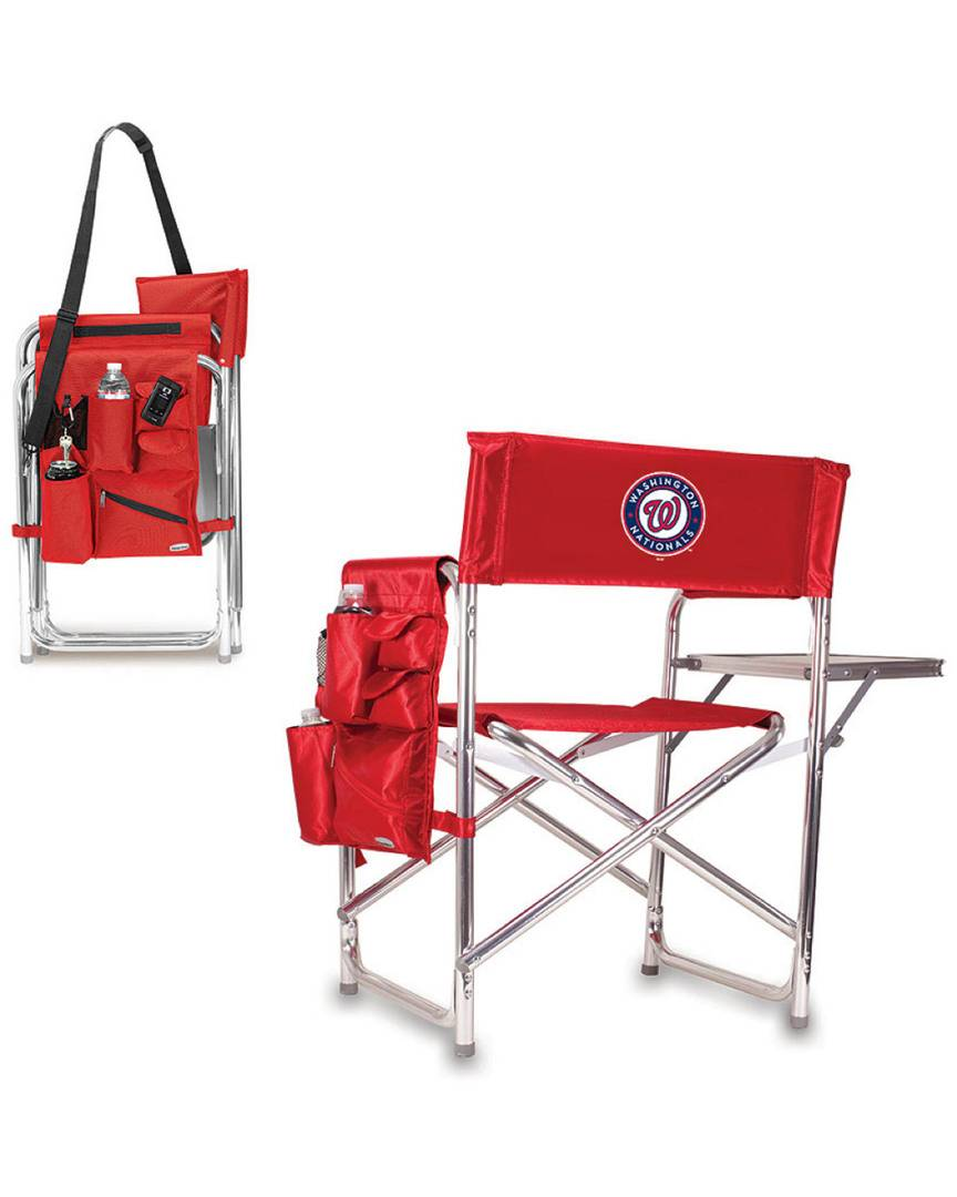 Picnic Time Washington Nationals Sports Chair  -Multicolor - Size: NoSize
