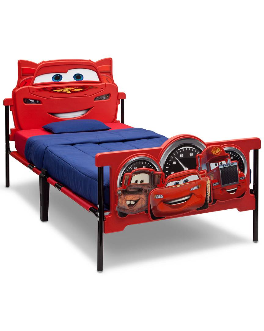 Delta Children Cars Plastic 3D Twin Bed   - Size: NoSize