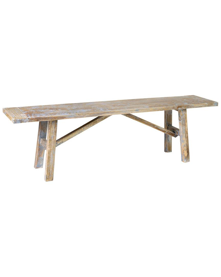 East at Main's Jerome Rubberwood Bench   - Size: NoSize