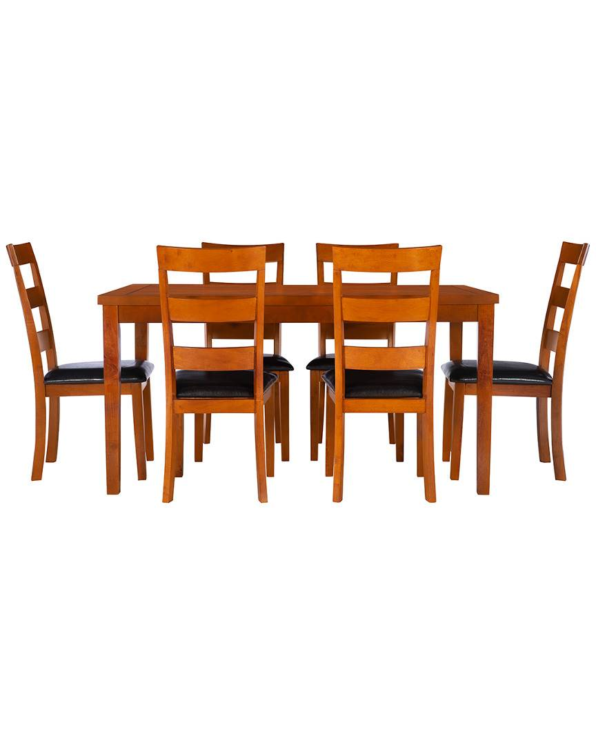 Powell Liesel 7PC Dining Set   - Size: NoSize