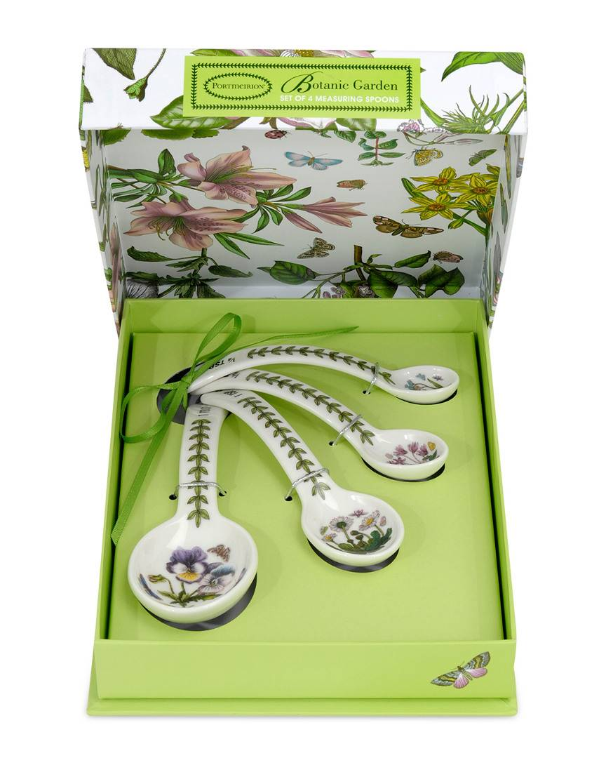 Portmeirion Botanic Garden Set of 4 Measuring Spoons   - Size: NoSize