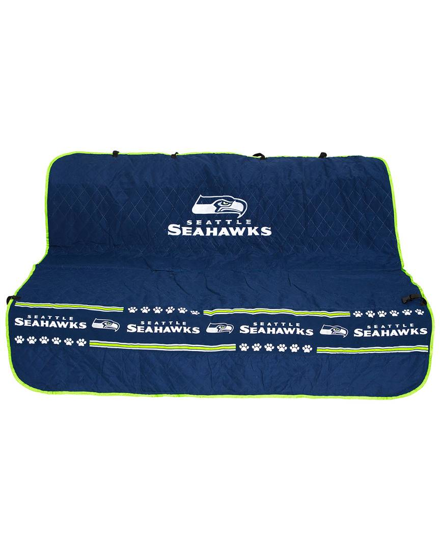 Pets First Seattle Seahawks Car Seat Cover   - Size: One Size